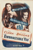 Embraceable You 1948 DVD - Dane Clark / Geraldine Brooks
